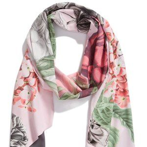 Ted Baker Skinny Scarf Palace Gardens NWT